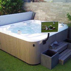 Caldera Hot Tub Features