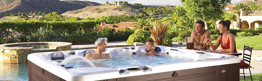 Caldera hottubs in Spokane are only available at Pool World