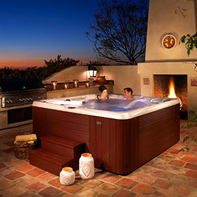 Caldera Hot Tubs Paradise Collection Salina