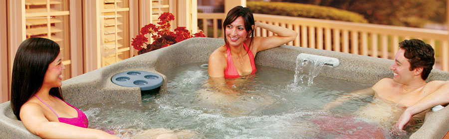 Free Flow hot tub models in Spokane are featured at Pool World