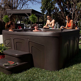 Free Flow Hot Tub Monterey