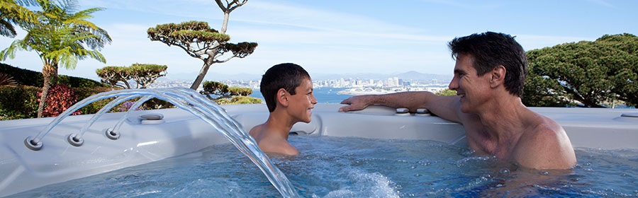 Hot Spring hot tubs in Spokane area are sold exclusively at Pool World